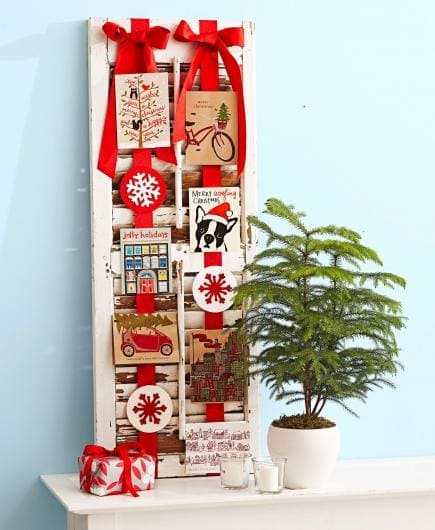 Christmas Card Display Ideas