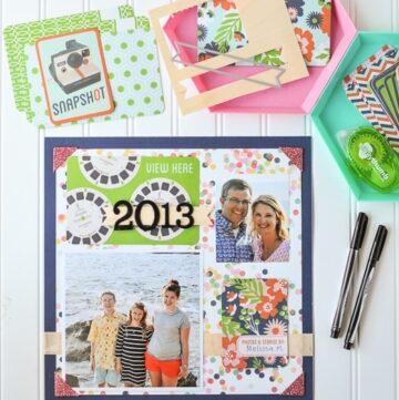 2013 Family Scrapbook