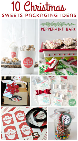 Christmas baked goods packaging ideas the polka dot chair for Homemade baked goods for christmas gifts