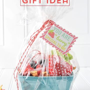 Strawberry Gift Basket Idea