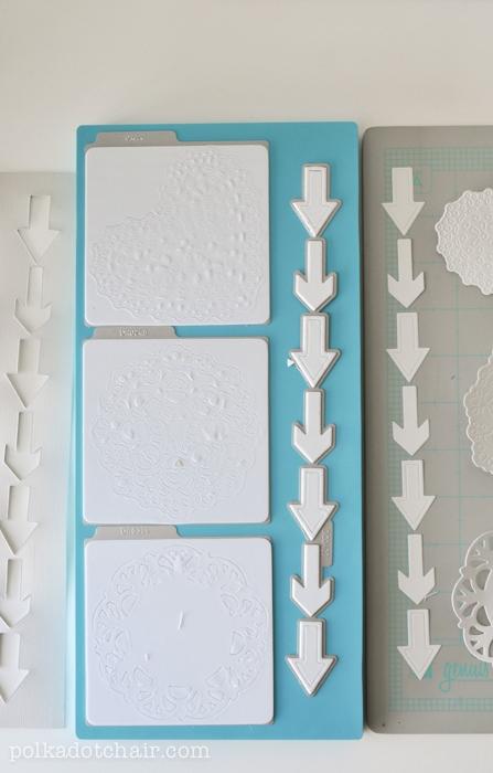 How to make a flip book mini scrapbook.
