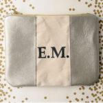 Monogrammed Leather Dopp Kit Tutorial