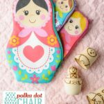 A new Sewing Pattern: Nesting Dolls Zip Pouches
