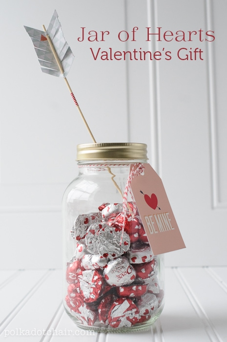 Jar Of Hearts A Valentine S Day Mason Jar Gift Idea