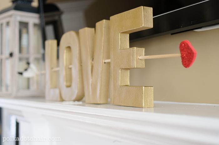 LOVE- Valentine's Day Craft Idea