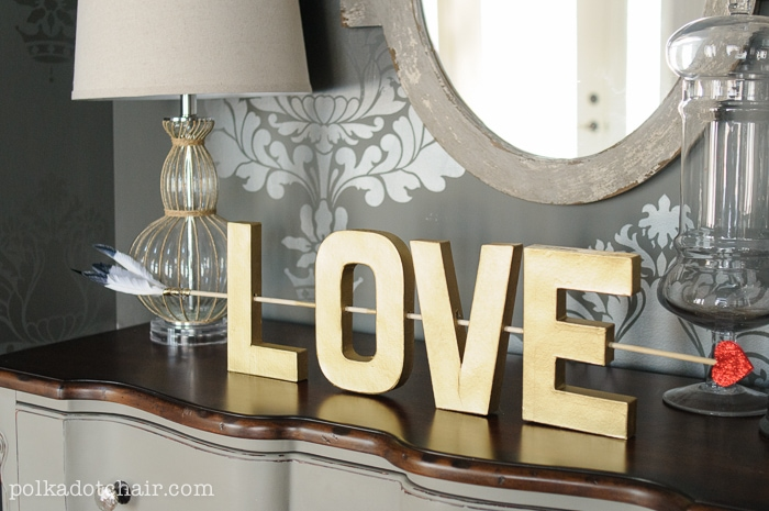 LOVE- Valentine's Day Craft Idea