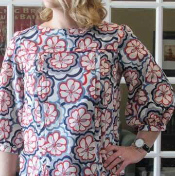 Mathilde Blouse Sewing Pattern