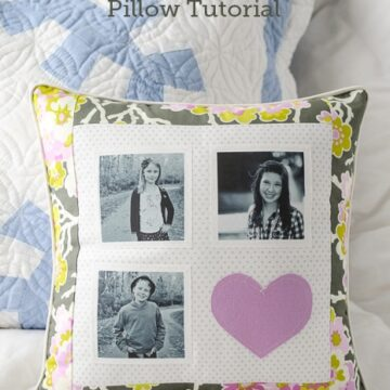 DIY Patchwork Pillow Tutorial