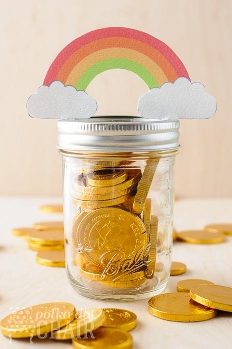 Rainbow Mason Jar Gifts