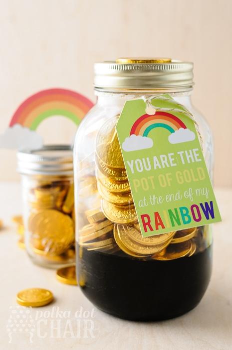 Mason Jar Gift Ideas for St. Patricks Day