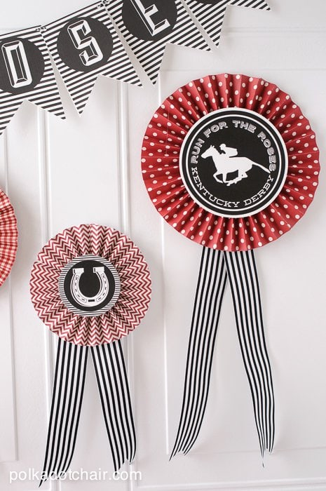 Kentucky Derby Party Ideas on polkadotchair.com