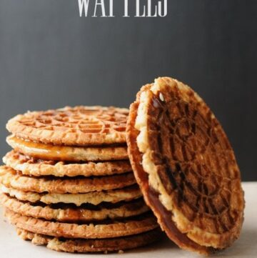Netherlands Inspired Stroopwafel Recipe