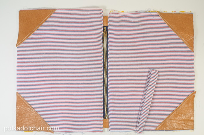 How to make a zip clutch