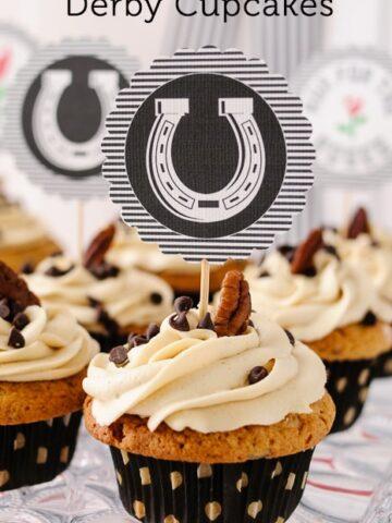 Kentucky Derby Cupcake Recipe on polkadotchair.com