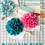 DIY Hair Ties, a Gift Idea