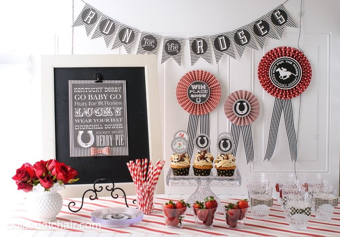 Kentucky Derby Decoration Ideas On Polkadotchair Com