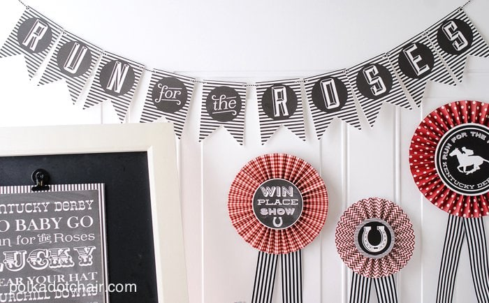 Kentucky Derby Party Ideas and Free Printables on ...