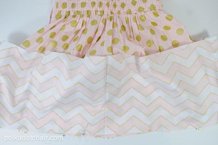 Tween Skirt Sewing Tutorial on polkadotchair.com