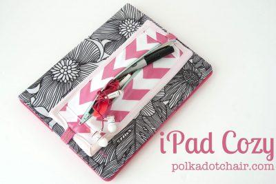 iPad Cozy Sewing Tutorial