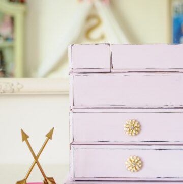 DIY Jewelry Box Makeover