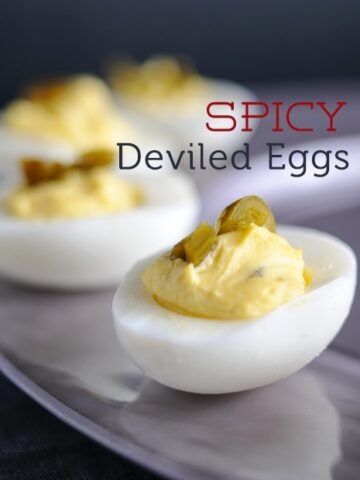 Spicy Deviled Egg Recipe