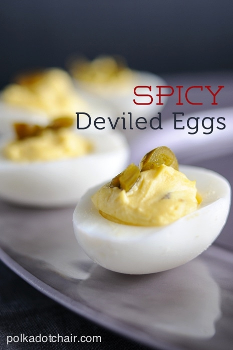 Spicy Deviled Egg Recipe