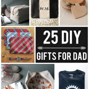 25 DIY Gifts for Dad