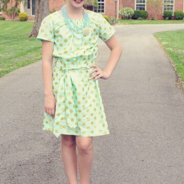 Easter Dress made from McCall's 6882