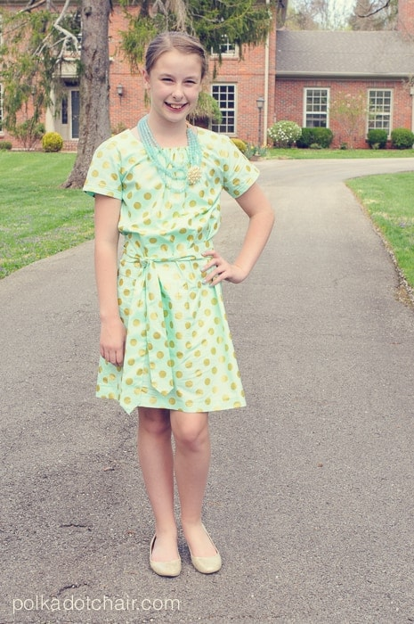 Vintage style clothing for teenagers