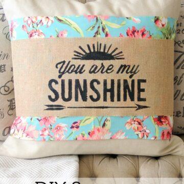 Summer Pillow Sleeves by Melissa Mortenson of polkadotchair.com