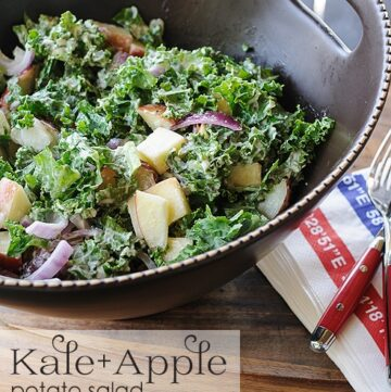 Kale and Apple Potato Salad Recipe
