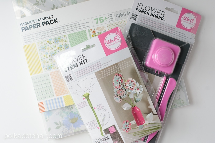 How to make paper flowers on polkadotchair.com