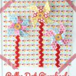 Pretty Pinwheels Quiet Book Page