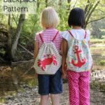 Summer Backpack Sewing Pattern for Riley Blake Fabrics