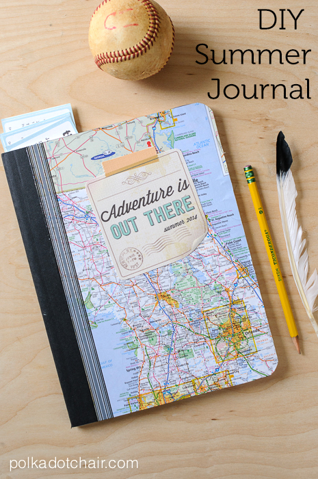 Diy Summer Journal And Free Quot Adventure Is Out There