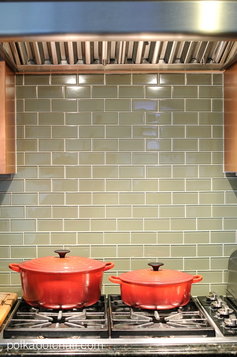 green-glass-tile-backsplash