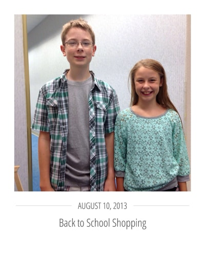 Back to School Shopping Tips and Free Printable Shopping List on polkadotchair.com