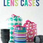 DIY Padded Camera Lens Case