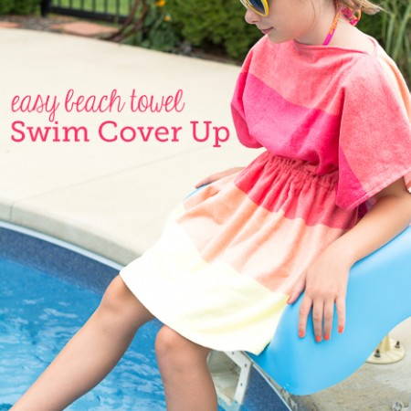 Easy Swimsuit Cover Up by Melissa Mortenson of polkadotchair.com