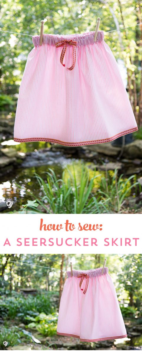 Simple Summer Skirts Sewing Tutorial On The Polka Dot Chair