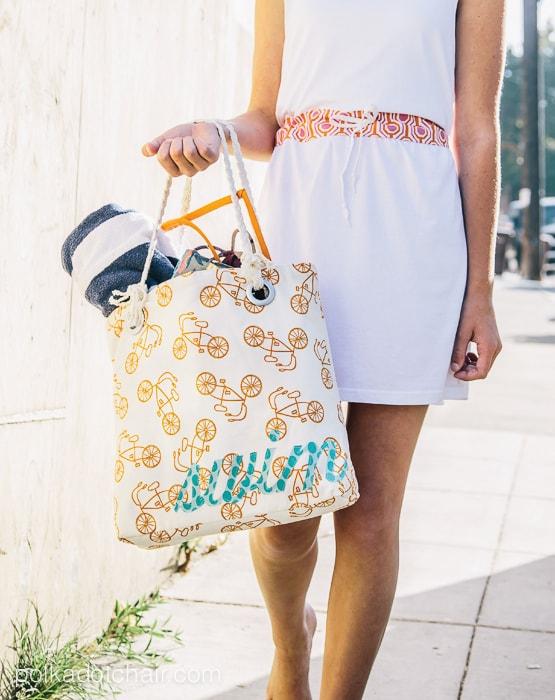 Swim Bag Sewing Pattern
