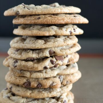 Chocolate Chip Cookie Recipe {with a hint of coconut}