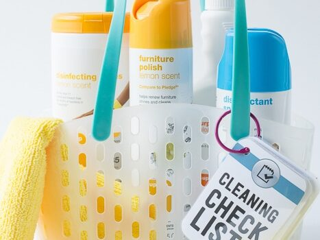 College Kid Cleaning Kit with Free Printable's and Target GiftCard® Giveaway!