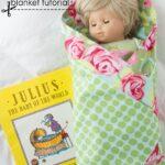 Baby Doll Receiving Blanket Pattern