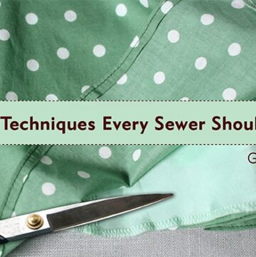 40 Sewing Tips & Techniques and Craftsy Giveaway
