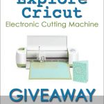 Enter to win a Cricut Explore
