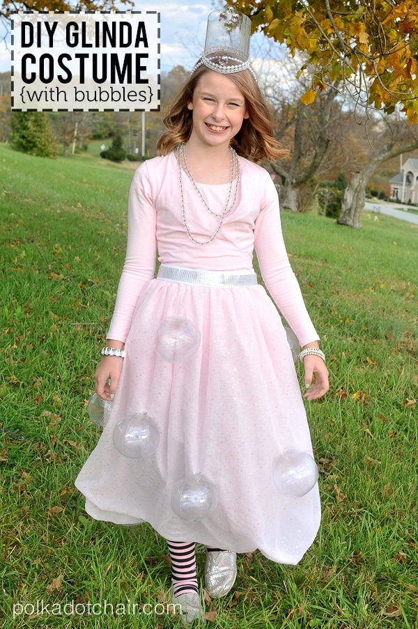 Glinda Halloween Costume Ideas  sc 1 st  The Polka Dot Chair & How to make a Glinda Costume