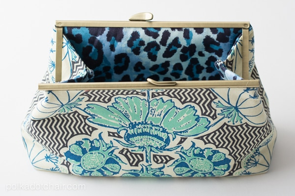 Frame Clutch Purse Sewing Pattern