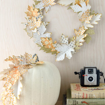 Autumn Paper Leaf Craft Ideas