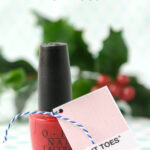 Nail Polish Christmas Gift Tag Printable
